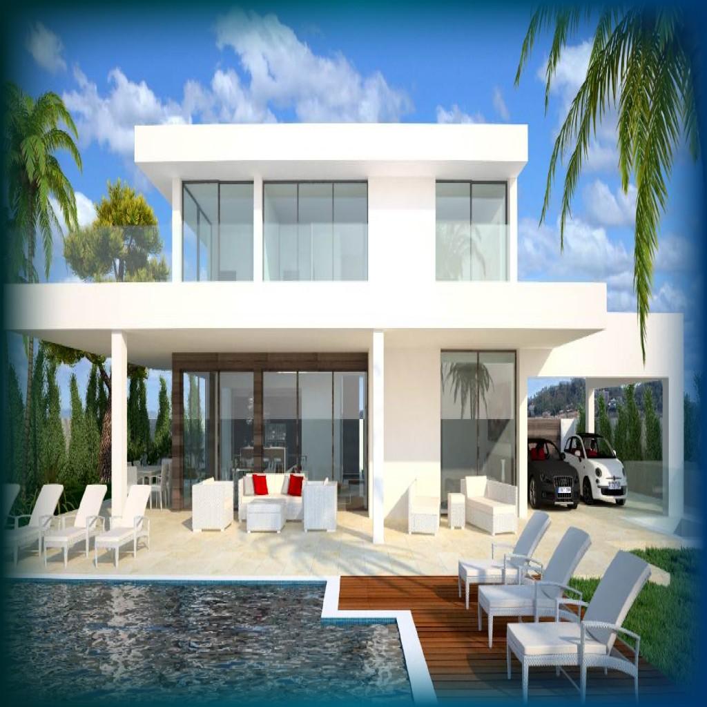 Casas modernas un mundo de casas for Planos casas pequenas modernas
