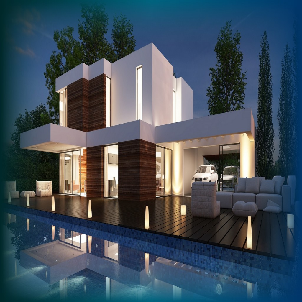 Casas modernas un mundo de casas for Fotos de casas modernas terreas